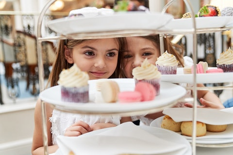 The best children's afternoon teas