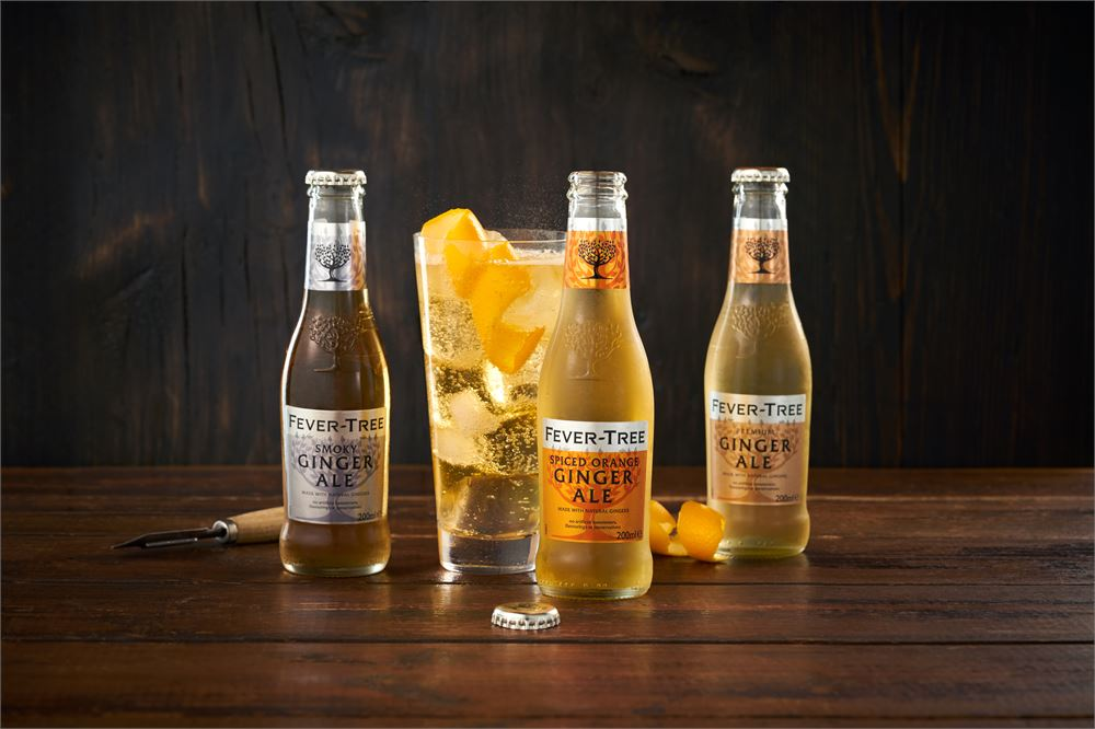Try Fever-Tree's new range of premium ginger mixers