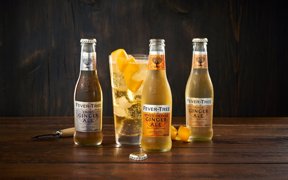 Try Fever-Tree's new range of premium ginger mixers