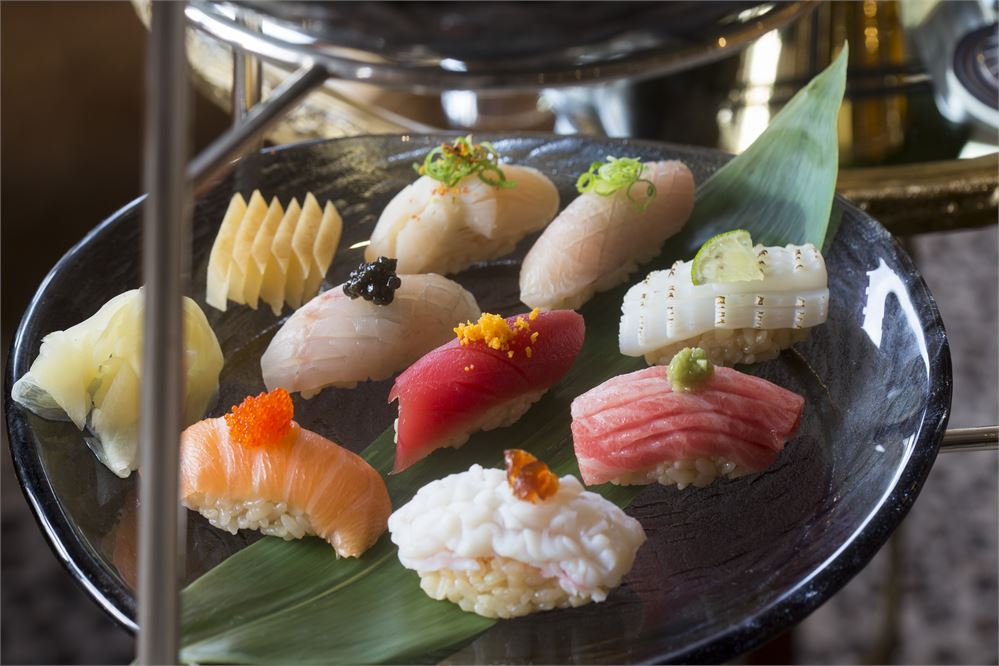 Win a personalised sushi and sake dining experience for two at The Leopard Bar at The Rubens at The Palace