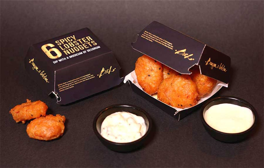 Burger & Lobster is trolling McDonald's with its own spicy nuggets