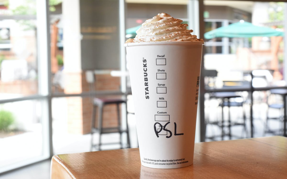 The Starbucks Pumpkin Spice Latte marks the (un)official end of Summer 2020