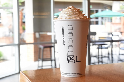 The Starbucks Pumpkin Spice Latte marks the (un)official end of Summer