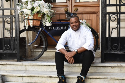 Selasi from GBBO has launched a new afternoon tea in Mayfair