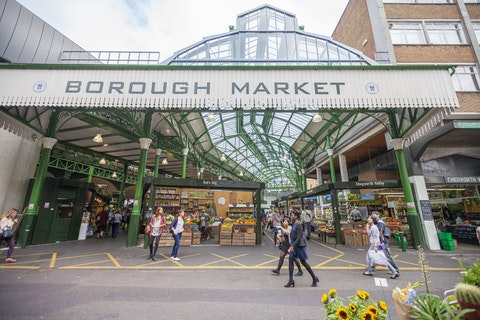 Borough Market Kitchen: The ultimate guide to Borough Market's street food hall