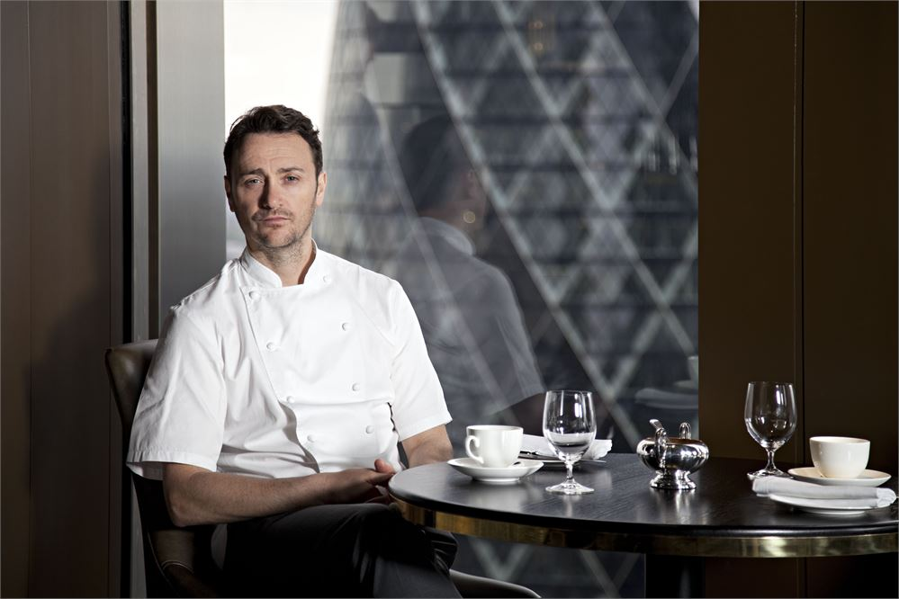 Jason Atherton at City Social in the City of London