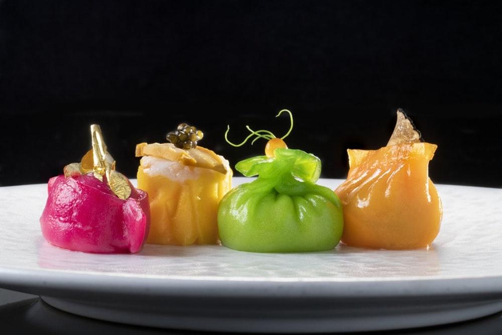 Michelin star Chinese restaurant London Hakkasan Hanway Place