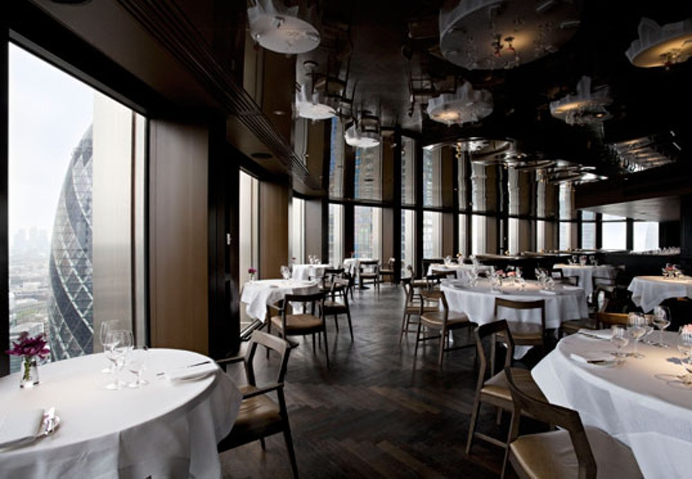 Michelin star restaurants London City Social