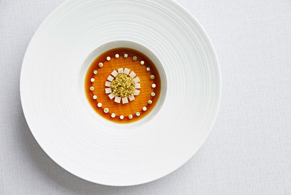 London Michelin star restaurants Chelsea Claude Bosi Bibendum