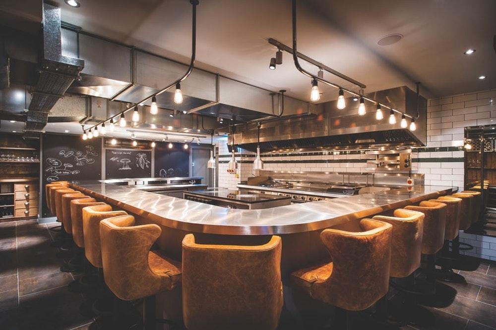 Two Michelin star restaurants London Bubbledogs