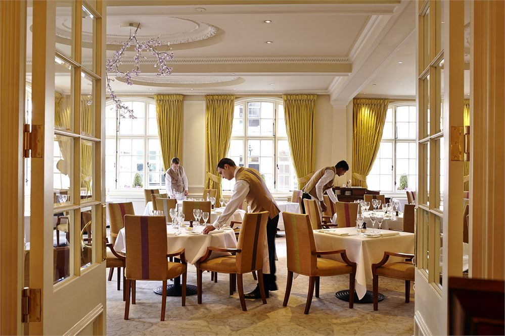 The Goring Dining Room in London's Belgravia