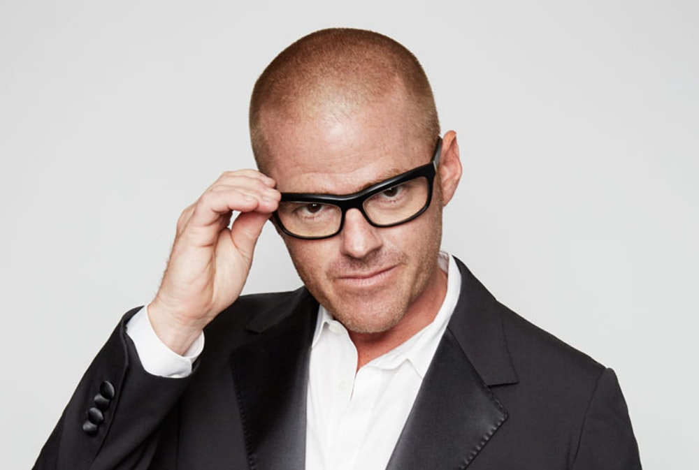 """Heston Blumenthal thinks female chefs struggle to lift """"heavy pots and pans"""""""