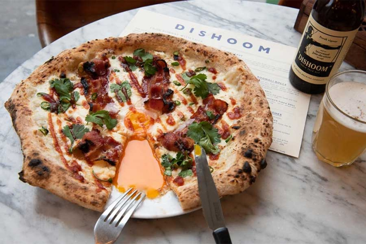 Pizza Pilgrims Launches Bacon And Egg Naan Pizza With Dishoom