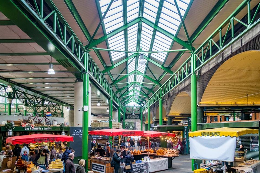 best food markets in London borough market