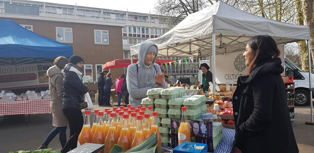 best food markets in London Ladbroke Grove farmer's market