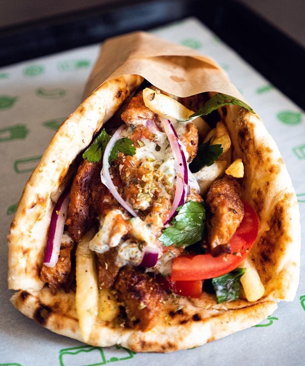street food London what the pitta