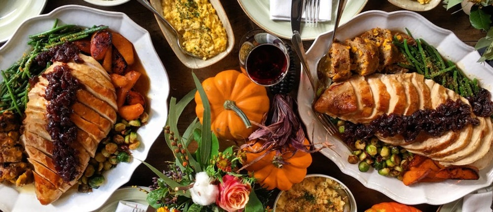 Where to go for Thanksgiving dinner 2019