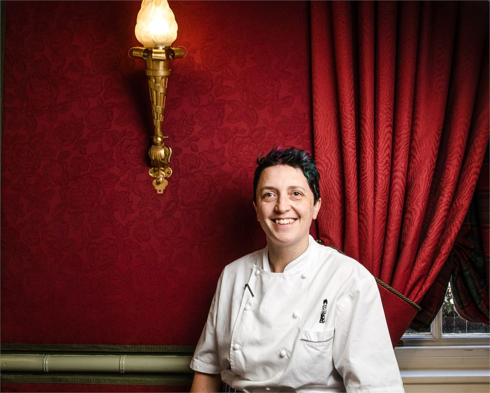 Rachel Humphrey head chef of Le Gavroche