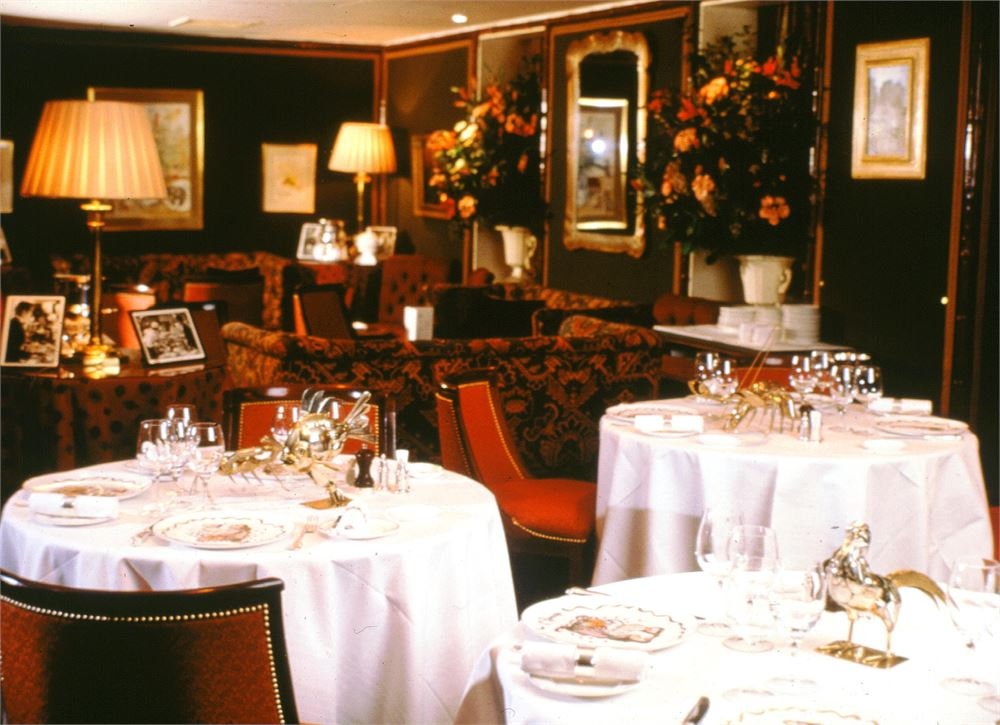 Le Gavroche restaurant in London's Mayfair