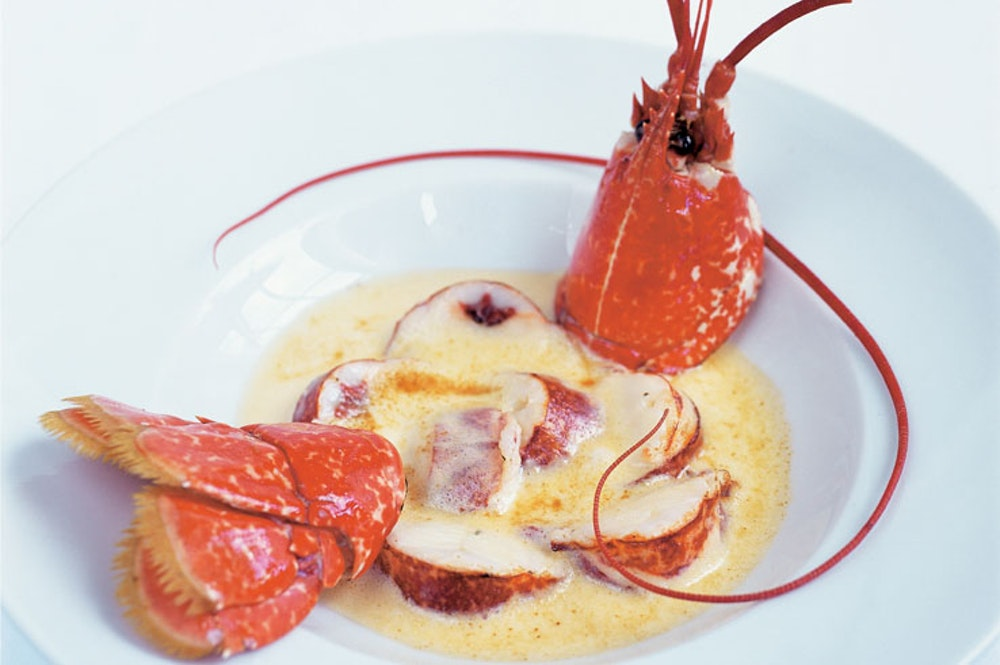 Lobster at Le Gavroche