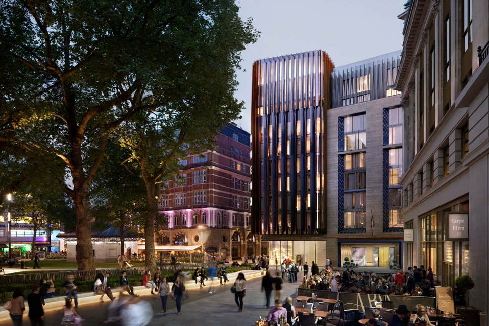 The Londoner, the capital's first 'iceberg' hotel, will open in Leicester Square next year