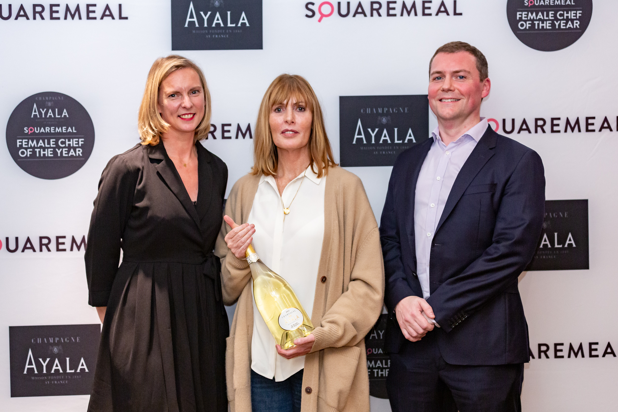 Skye Gyngell is the winner of the 2019 AYALA SquareMeal Female Chef of the Year