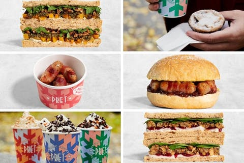 Pret's 2020 Christmas sandwiches are here (along with the rest of the festive menu!)