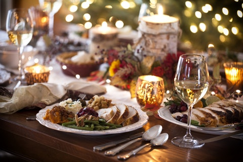 The number of people dining out on Christmas Day has risen by 139% in five years