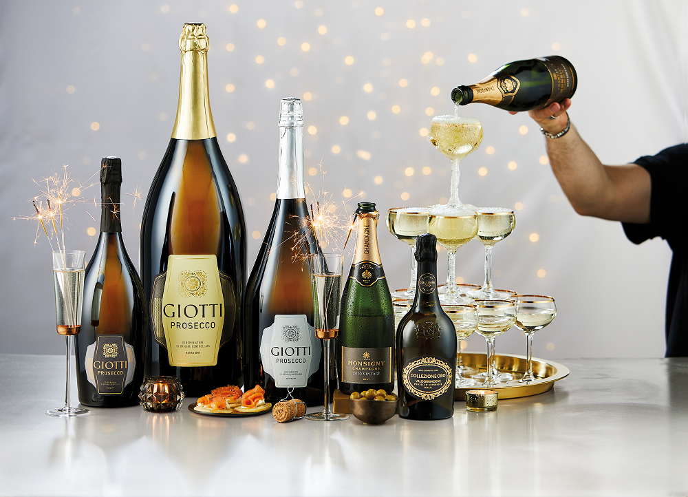 Aldi is selling a 6-litre bottle of Prosecco for Christmas