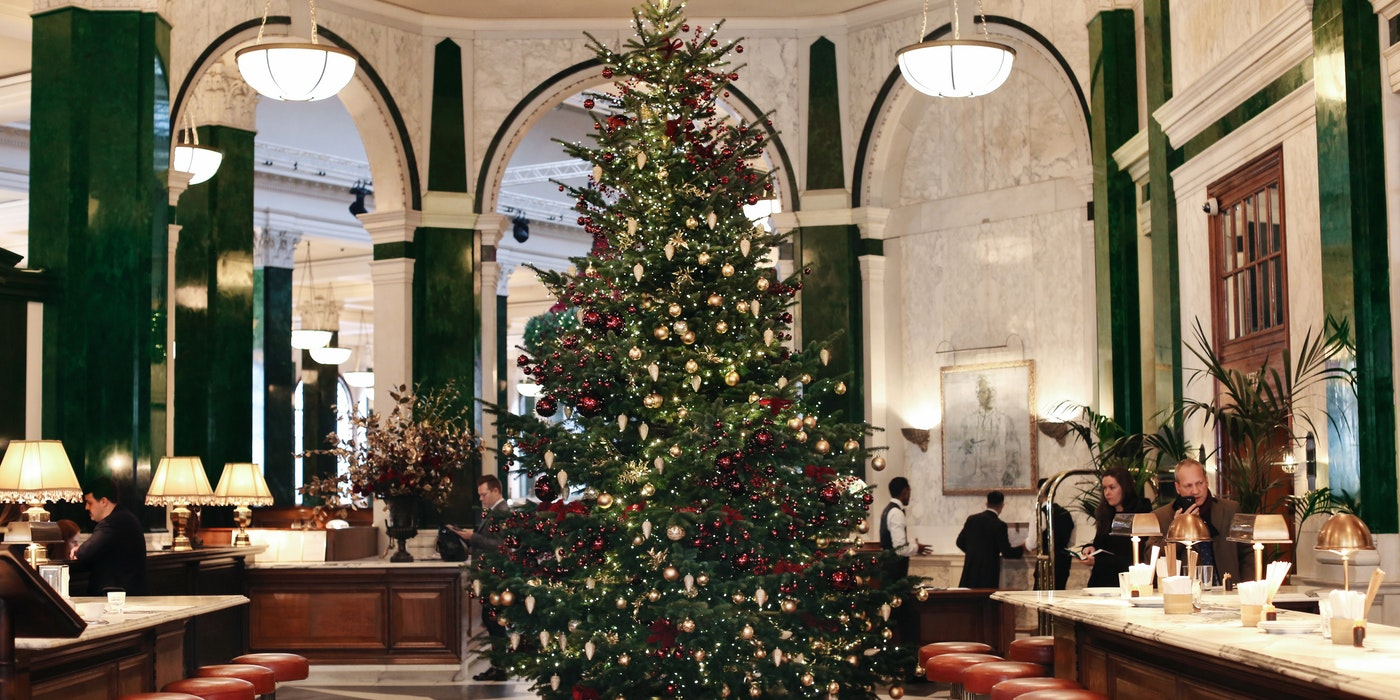 The best Christmas trees in London for 2019