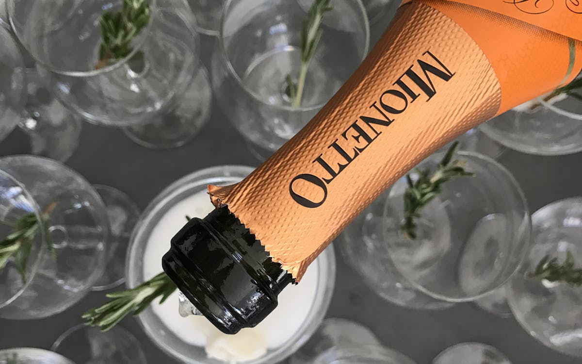 Add some sparkle this Christmas with Mionetto Prosecco