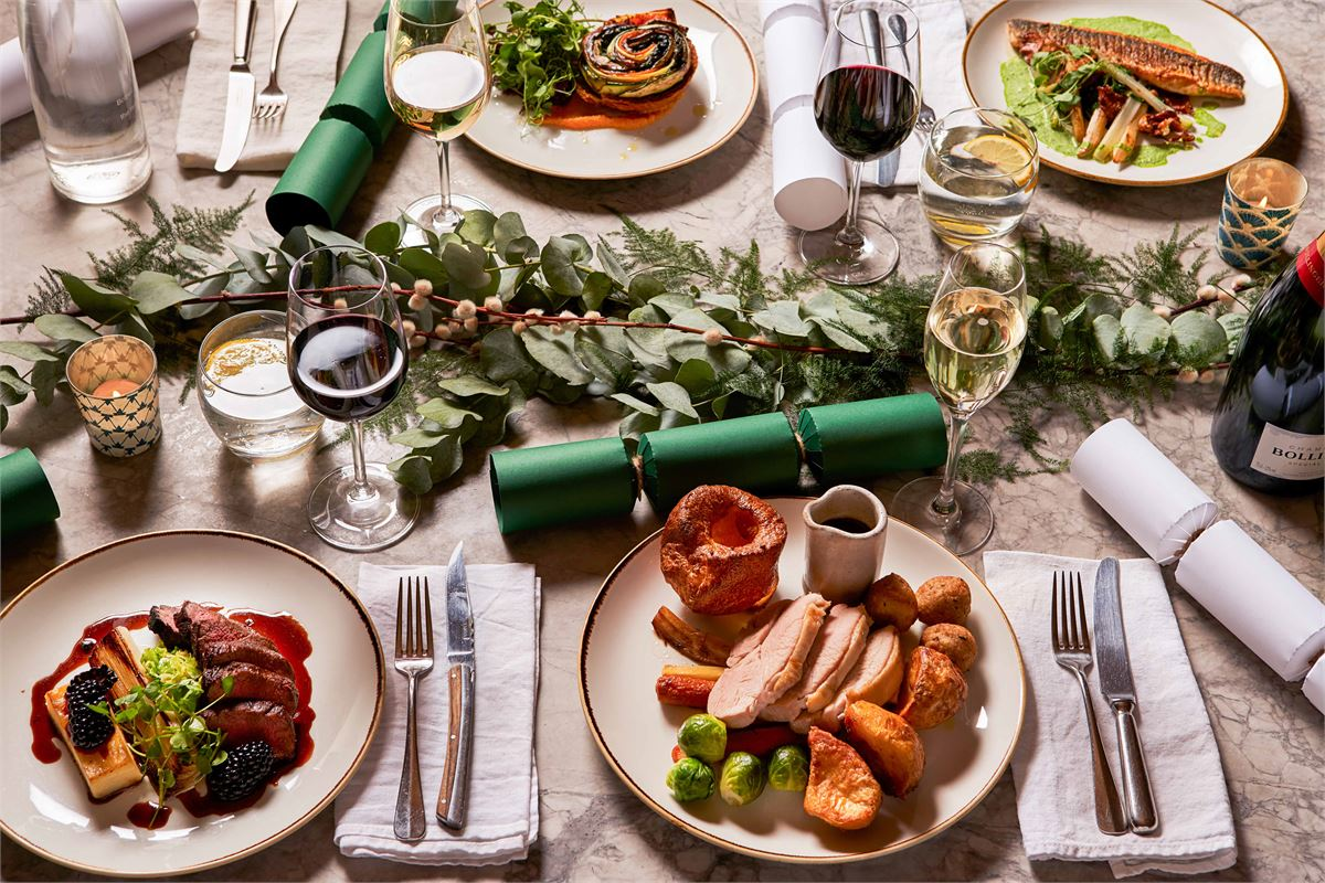 Free Christmas Dinner Near Me 2021 34 Of The Best Christmas Dinners In London