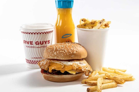 Five Guys are launching a breakfast menu