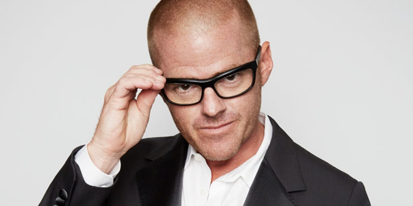 Who is Heston Blumenthal from Marvellous Menu: Back to the Noughties?