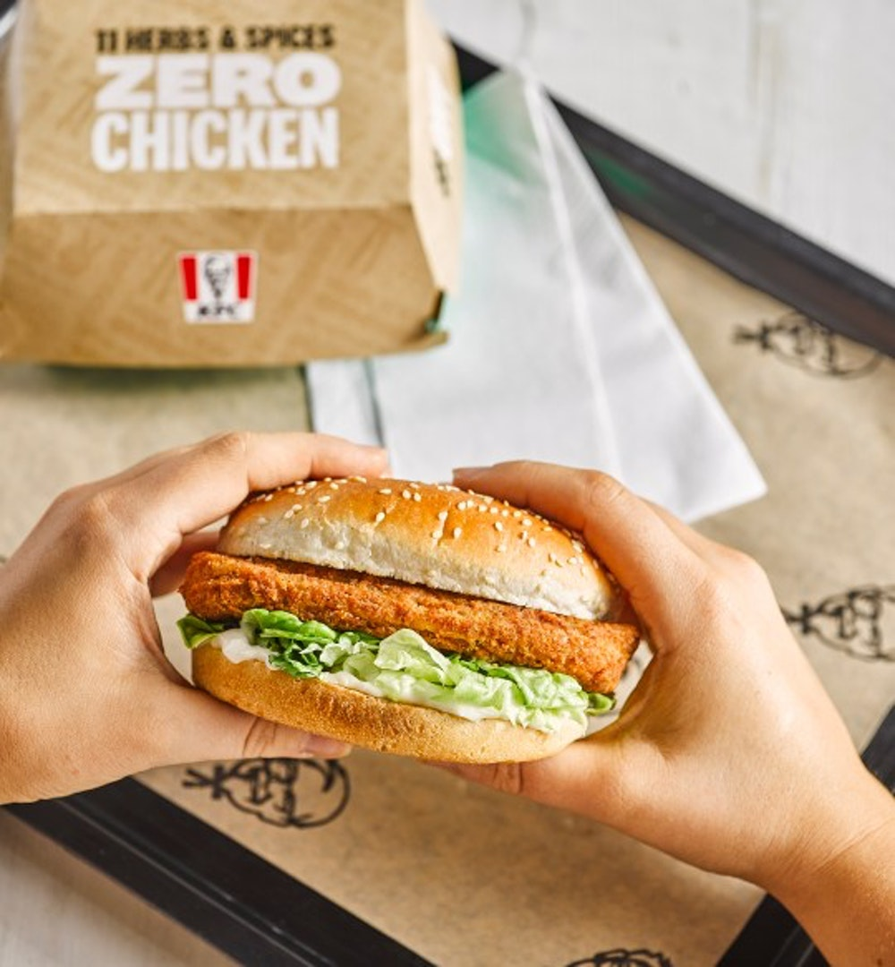 KFC has sold 1 million vegan burgers since its launch this year