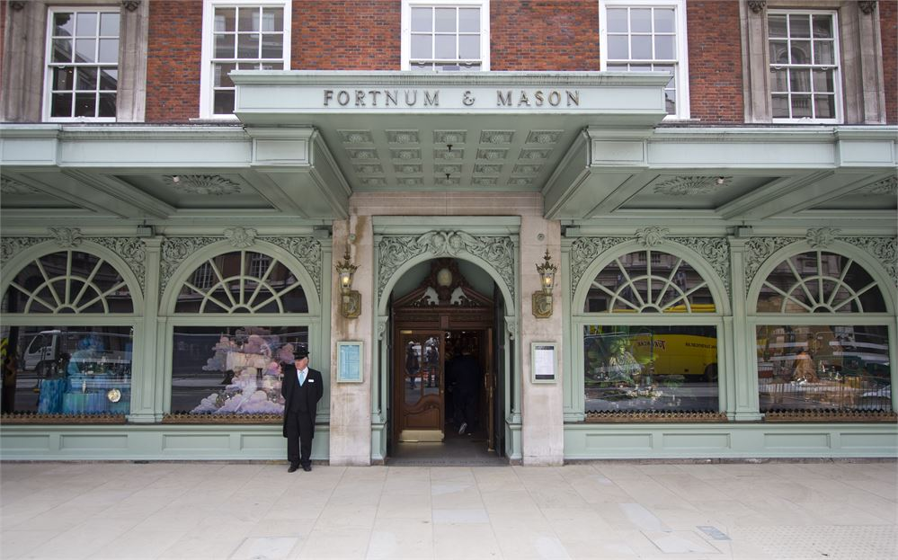 You can now get married at a Fortnum & Mason wedding chapel