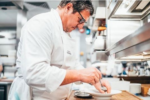 Two Michelin-starred chef Claude Bosi refused residency in the UK