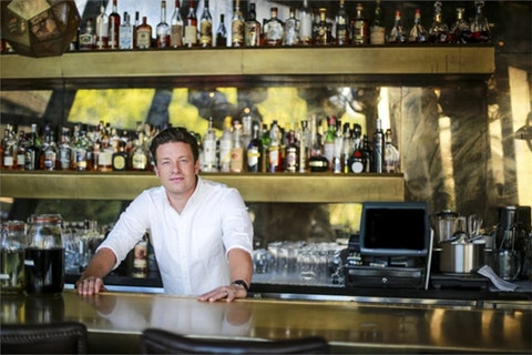 Jamie Oliver turned to family for support after the collapse of his restaurant empire