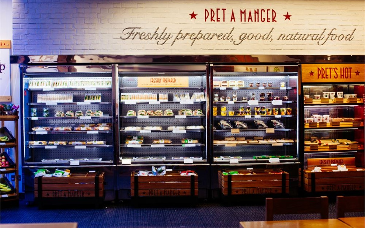 Veggie Pret to open seven new London locations as demand for plant-based food grows