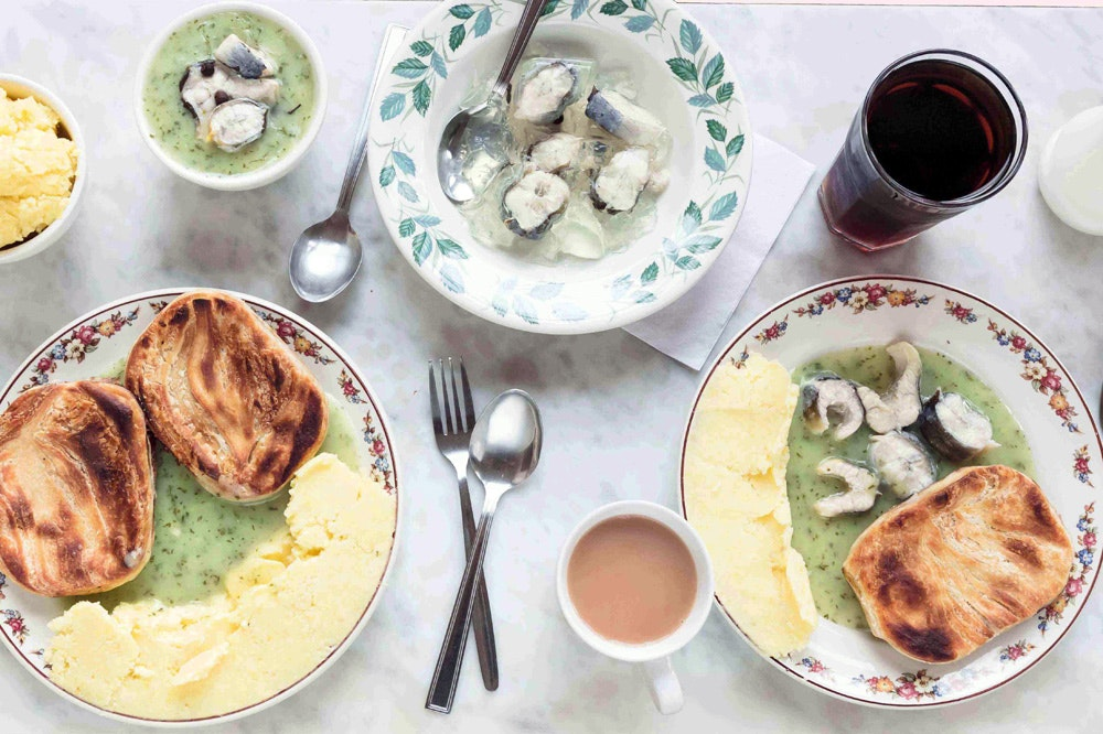 10 top spots for pie and mash in London