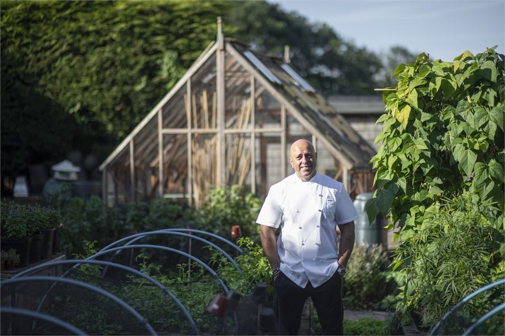 Michelin-starred chef Sat Bains estimates £50,000 loss after flooding causes restaurant to close