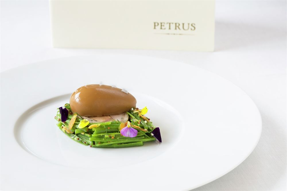 Petrus London tasting menu