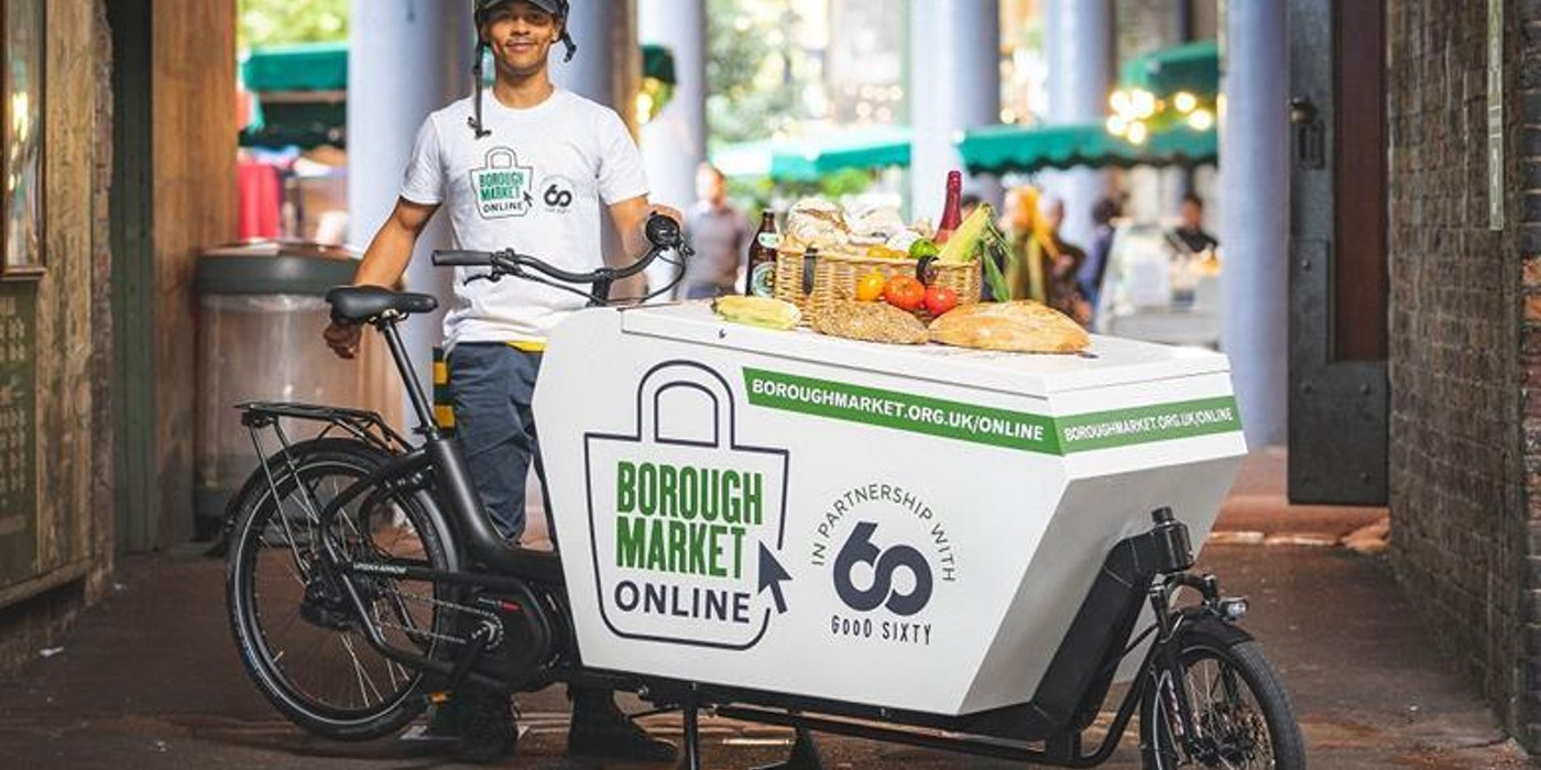 World-famous Borough Market is expanding its home delivery service