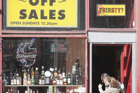 It's official: Off-licenses are 'essential' says UK government