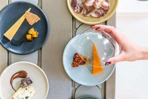 London's first cheese conveyor belt restaurant to offer all you can eat cheese throughout August