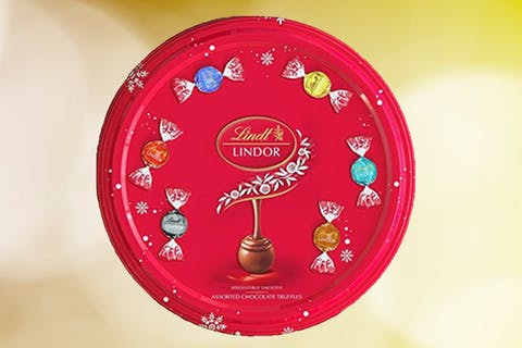 Are Lindt Sharing Tins here to replace Roses and Quality Street this Christmas?