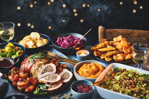 M&S Christmas food 2021: light up gin, Percy 'Pigloos' and the perfect turkey joint