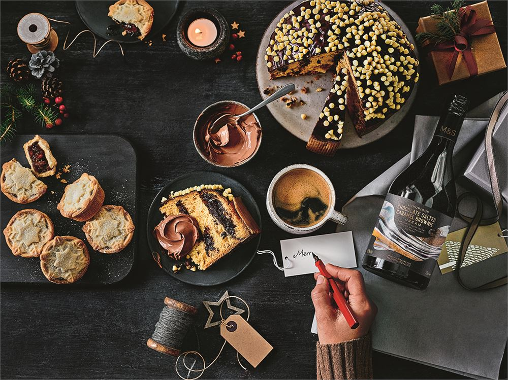 M&S unveils new Christmas food range for 2020 (and the future looks bright and boozy!)