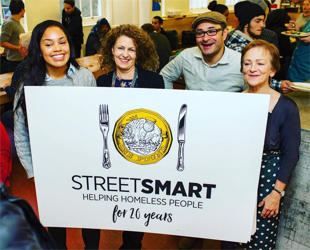 StreetSmart and SquareMeal join forces to support homeless charities for another year