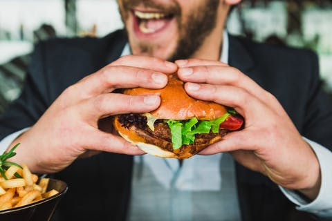 London restaurants open for business lunches are encouraging companies to have meetings over the dinner table